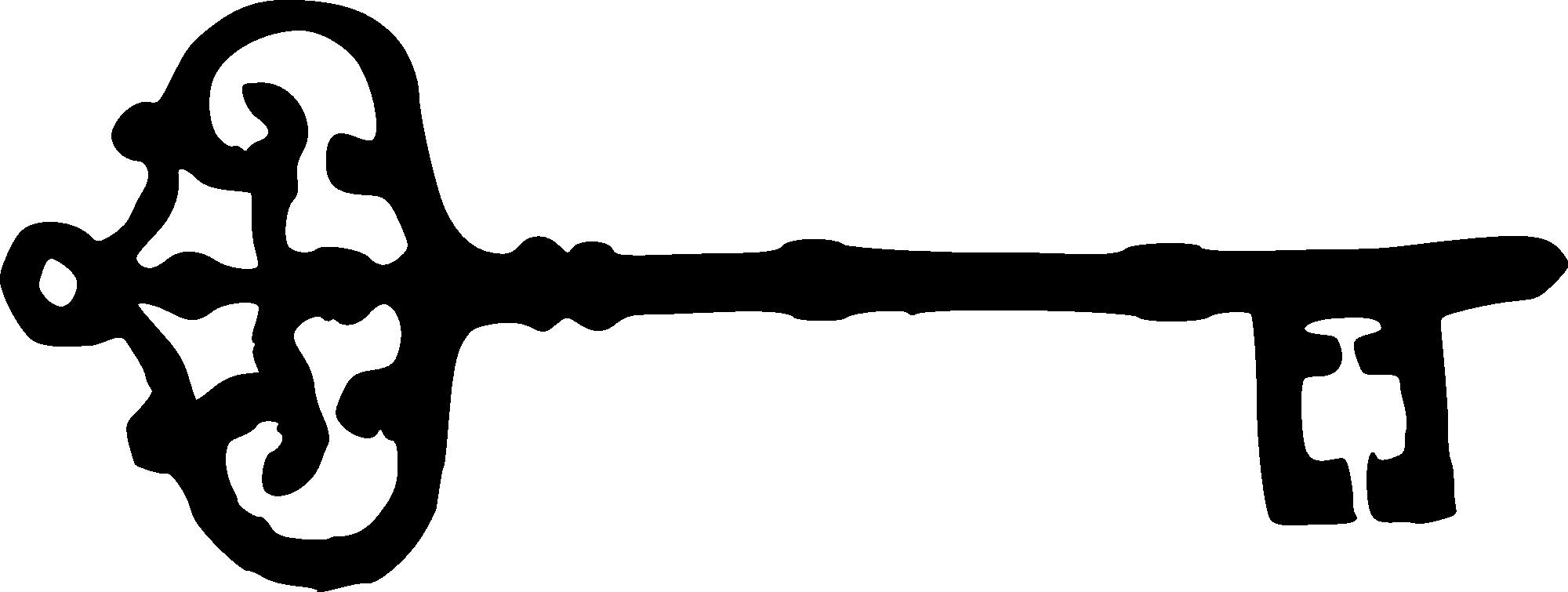Heart skeleton key clipart banner download 8 Skeleton Key Silhouettes (PNG Transparent) | OnlyGFX.com banner download