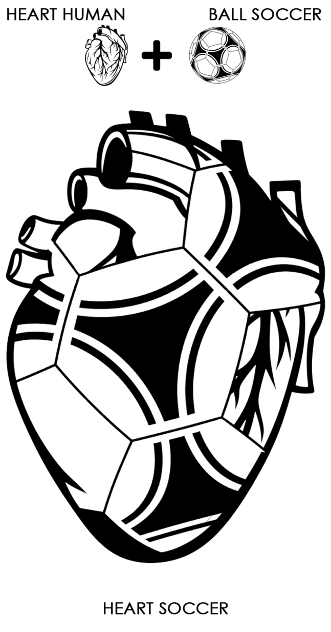 Human heart clipart drawing free stock Logo - HEART SOCCER by fabrizioleone on DeviantArt free stock