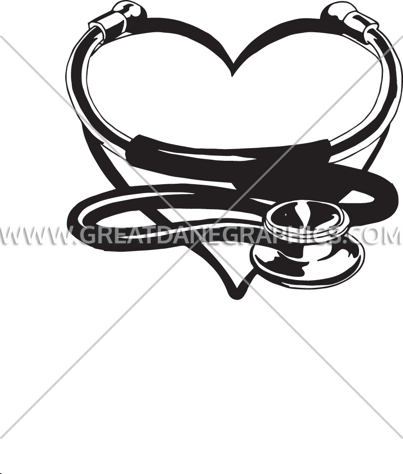 Heart stethoscope clipart black and white clip royalty free 33++ Beauty Stethoscope Heart clip royalty free