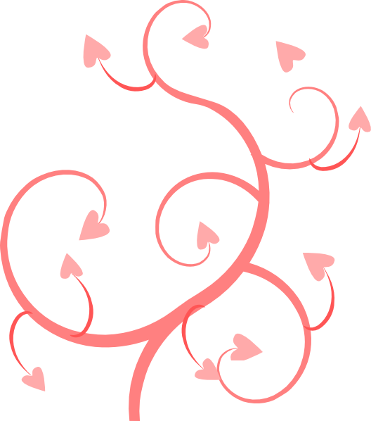 Swirly heart clipart graphic free library Pink Heart Swirl Clip Art at Clker.com - vector clip art online ... graphic free library