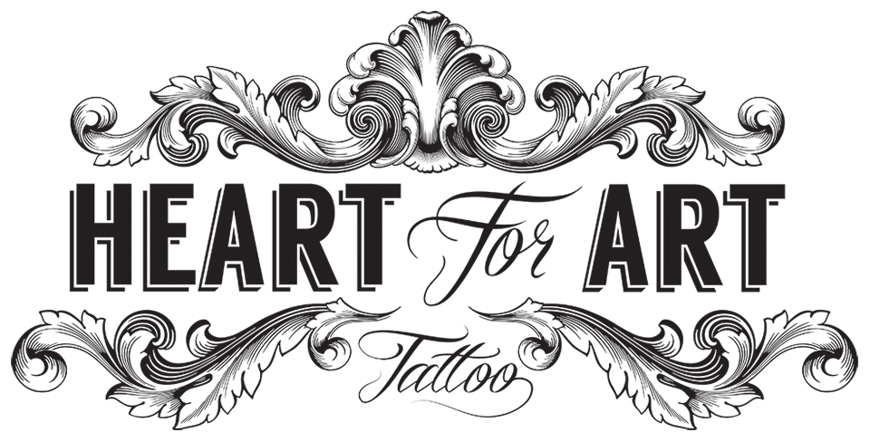 Heart tattoo clipart image black and white stock Heart With Banner Tattoo Designs (83+) Desktop Backgrounds image black and white stock