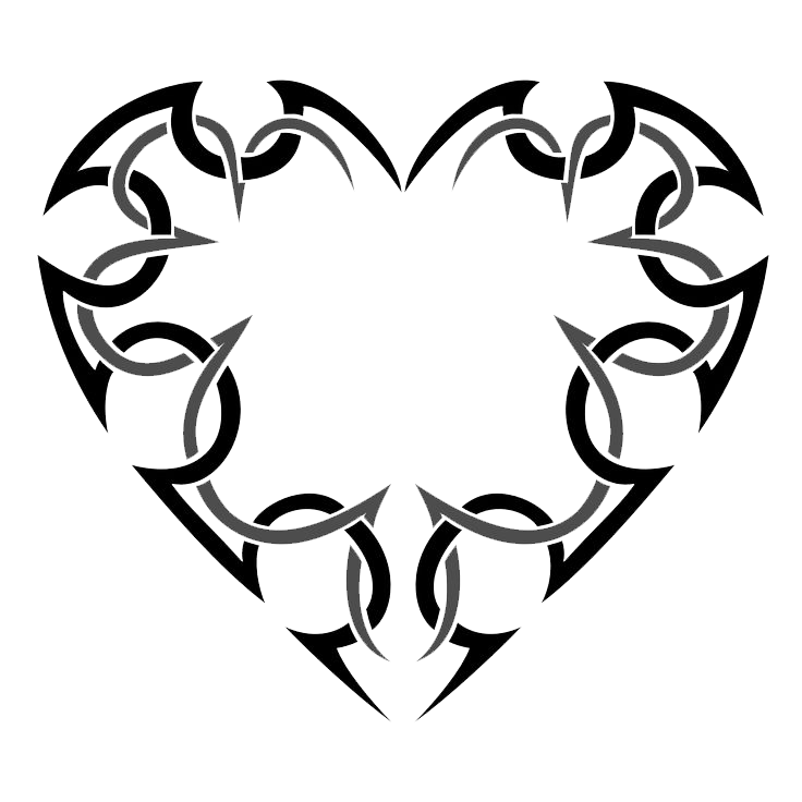 Heart tattoo clipart picture free download Heart Tattoos PNG Transparent Heart Tattoos.PNG Images. | PlusPNG picture free download