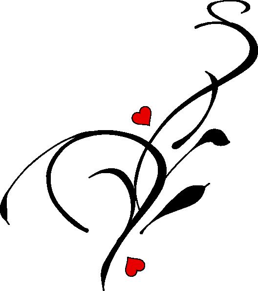 Heart vine clipart vector transparent download Vine Heart Clip Art at Clker.com - vector clip art online, royalty ... vector transparent download