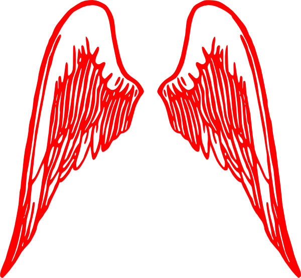 Heart with angel wings clipart svg freeuse Angel Wings Clipart at GetDrawings.com | Free for personal use Angel ... svg freeuse