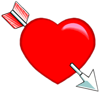Heart with arrow clipart png royalty free Heart With Arrow Clip Art Download png royalty free