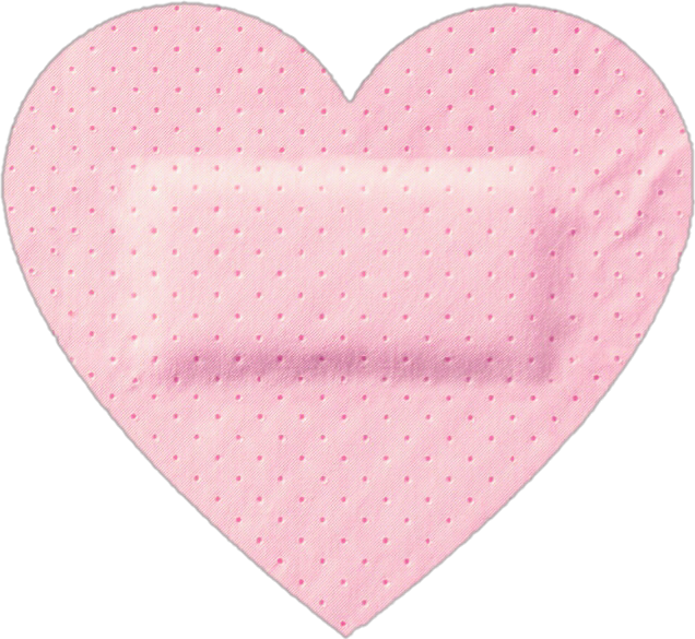 Heart with bandaid clipart clip art transparent download heart cute sticker pink pastel band-aid kawaii aestheti... clip art transparent download