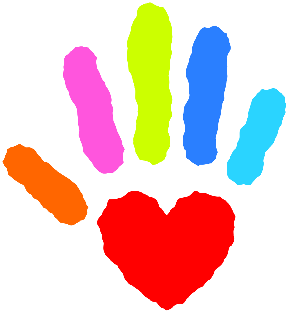 Heart with hands clipart graphic transparent stock File:Heart hand nevit fractalized.svg - Wikimedia Commons graphic transparent stock