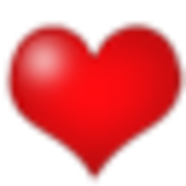 Heart with heartbeat clipart graphic stock Heart 76 | Free Images at Clker.com - vector clip art online ... graphic stock