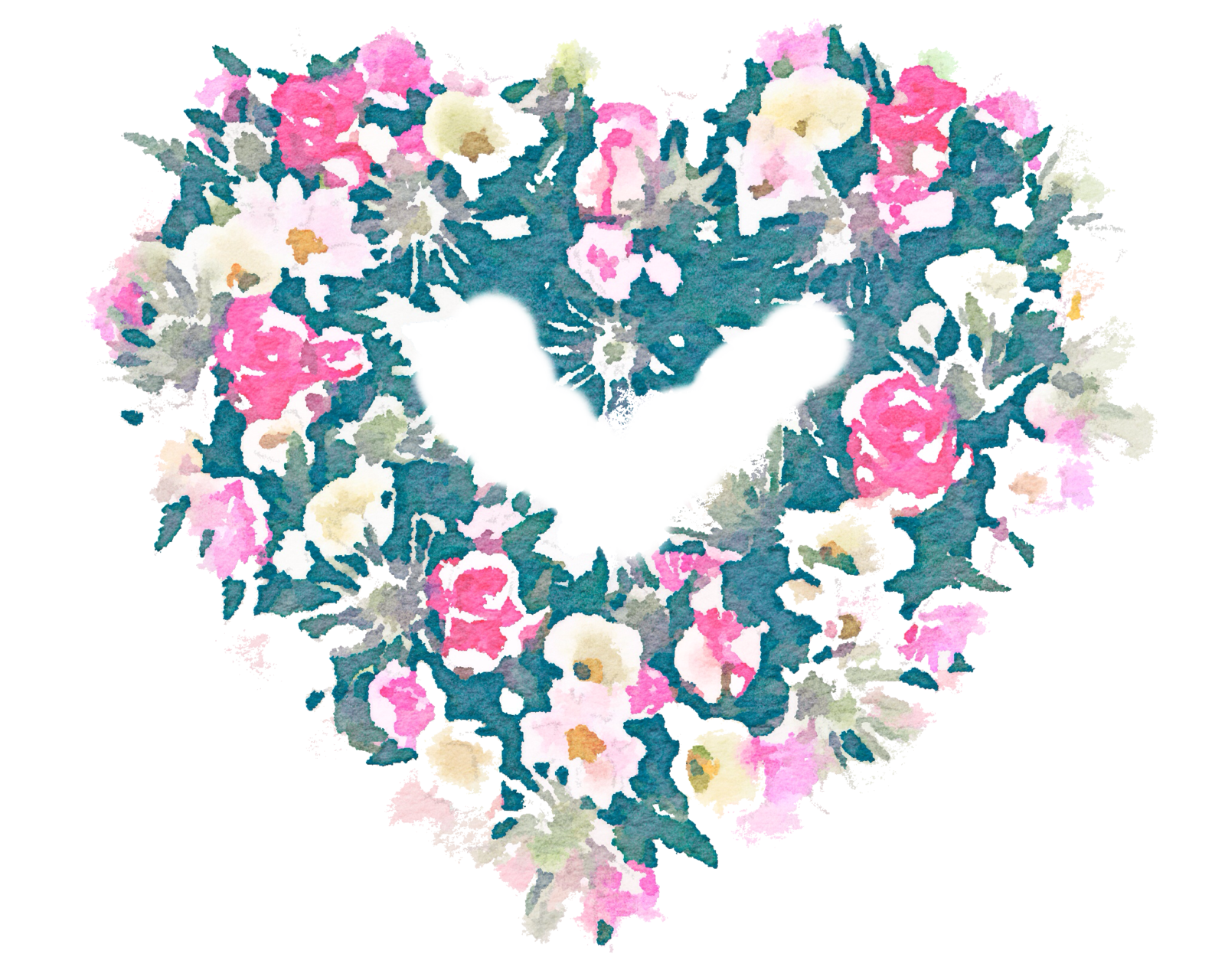 Heart wreath clipart banner library library free-wreath-watercolor-png-use-freely by anjelakbm on DeviantArt banner library library