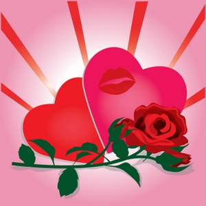 Hearts and roses clipart graphic royalty free Clipart hearts and roses - ClipartFest graphic royalty free