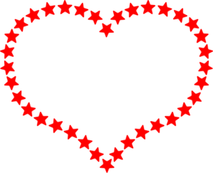 Hearts and stars clipart svg black and white Hearts and stars clipart - Clipartix svg black and white