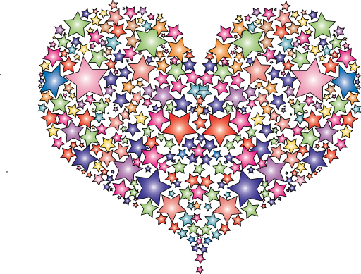 Hearts and stars clipart royalty free Hearts and stars clipart - ClipartFest royalty free