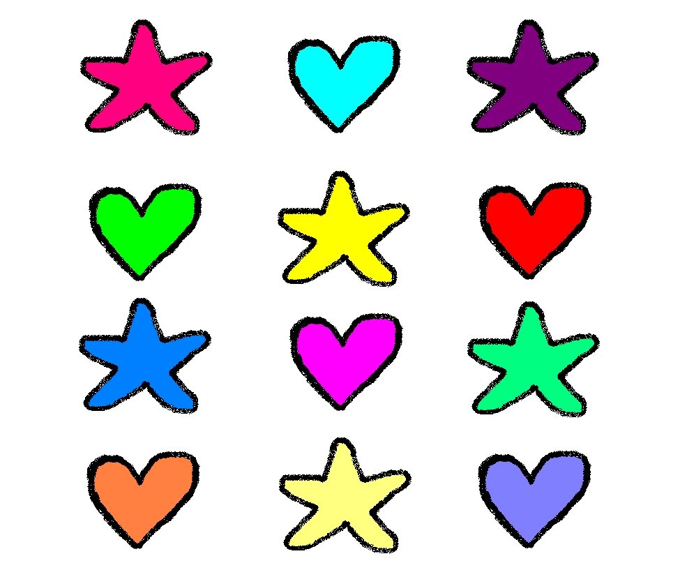 Hearts and stars clipart picture freeuse library Pictures Of Hearts And Stars | Free Download Clip Art | Free Clip ... picture freeuse library