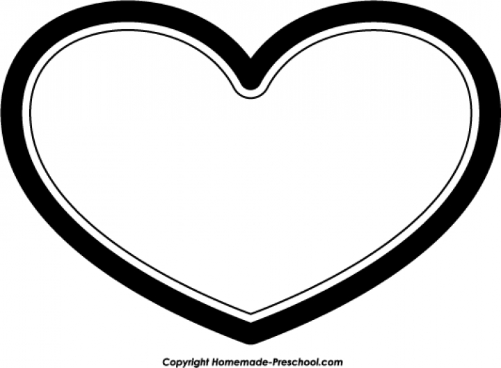 Hearts black and white clipart graphic transparent library Free Black And White Clipart, Heart - ClipArt Best graphic transparent library