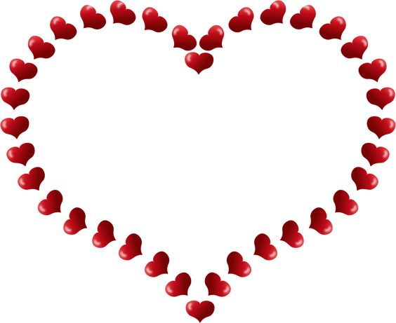 Hearts border clip art vector transparent Heart Border Clip Art | Clipart Panda - Free Clipart Images ... vector transparent