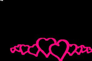Hearts border clip art graphic transparent Heart Border Clip Art | Clipart Panda - Free Clipart Images graphic transparent