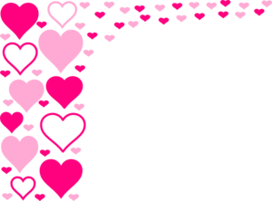 Hearts border clip art picture Pink Hearts Border Clip Art at Clker.com - vector clip art online ... picture