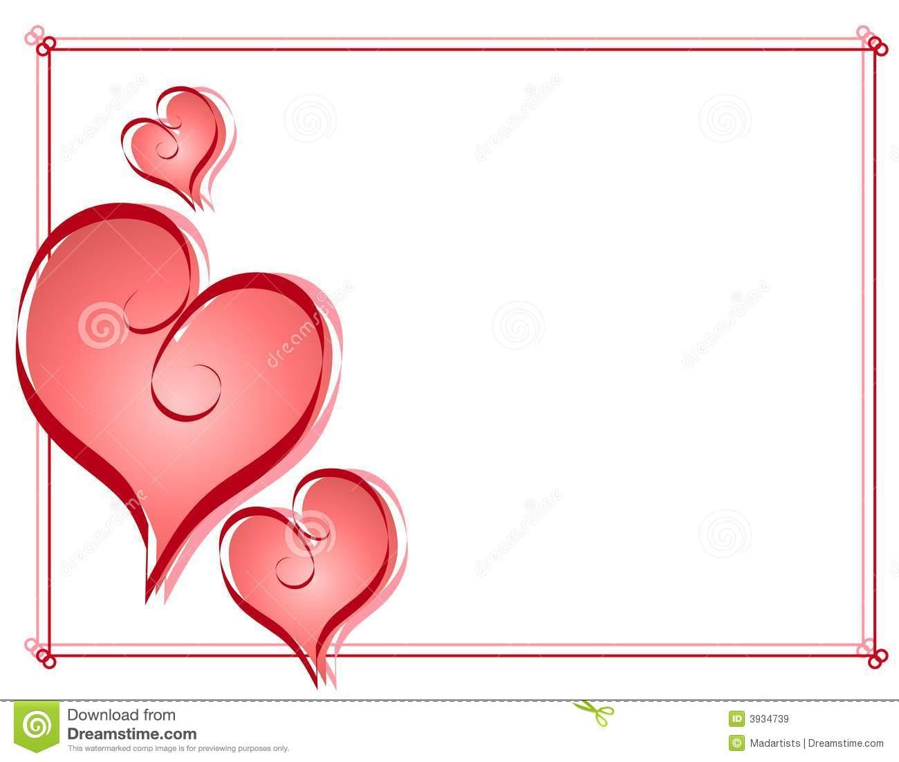 Hearts border clip art free image royalty free Valentine Border Clip Art Free & Valentine Border Clip Art Clip ... image royalty free