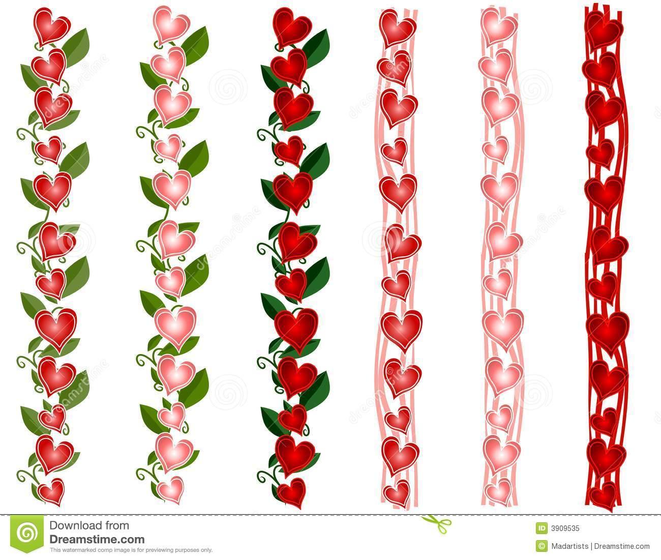 Hearts border clip art free clip transparent Valentine borders clip art - ClipartFest clip transparent