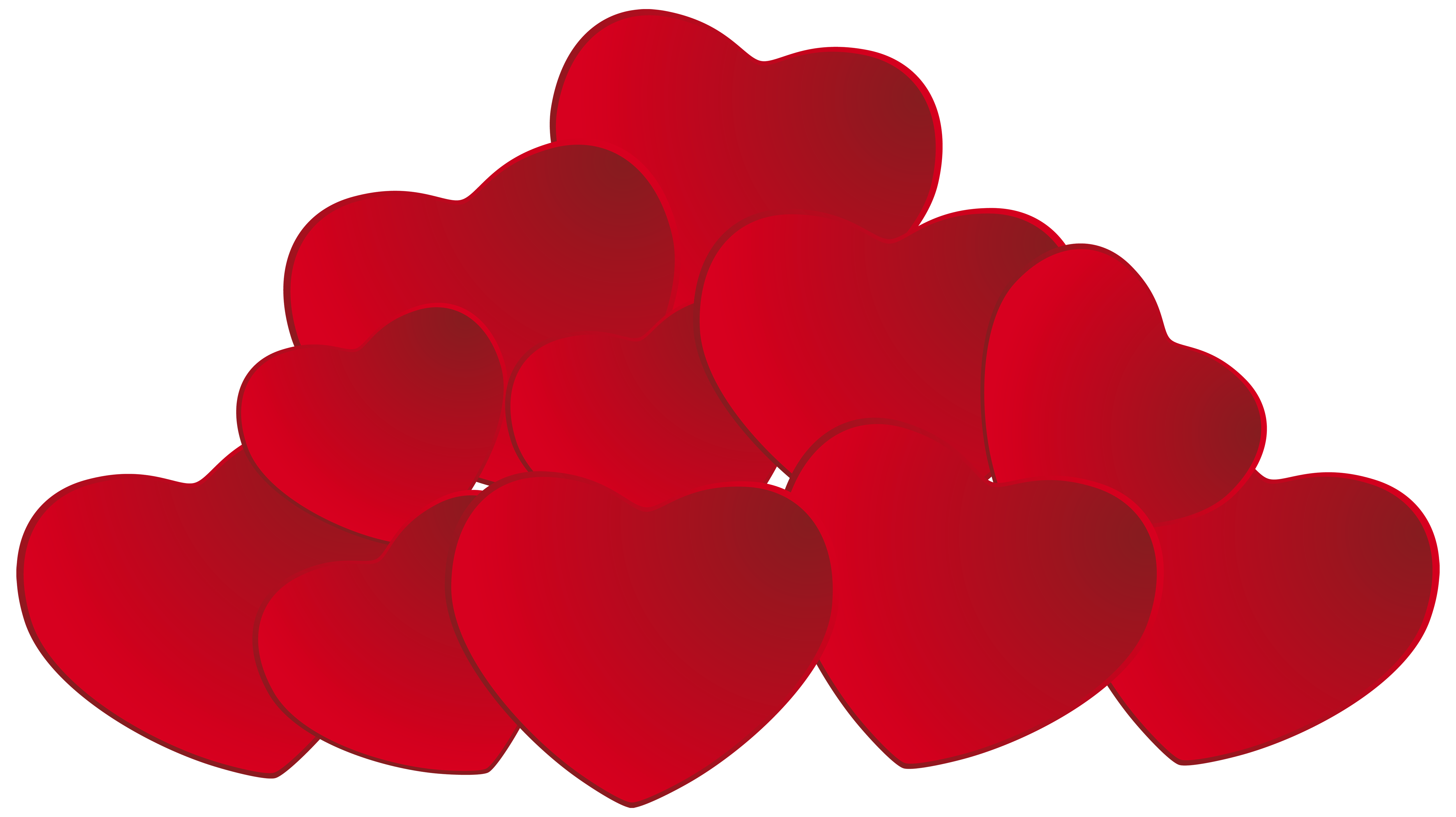 Mini heart clipart picture royalty free download Pile of Hearts PNG Clipart - Best WEB Clipart picture royalty free download