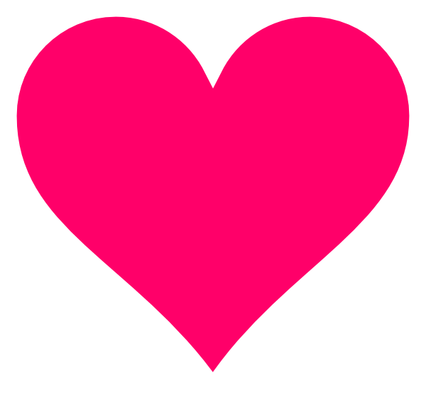 Heart clipart png free download Hot Pink Floating Hearts Clipart free download