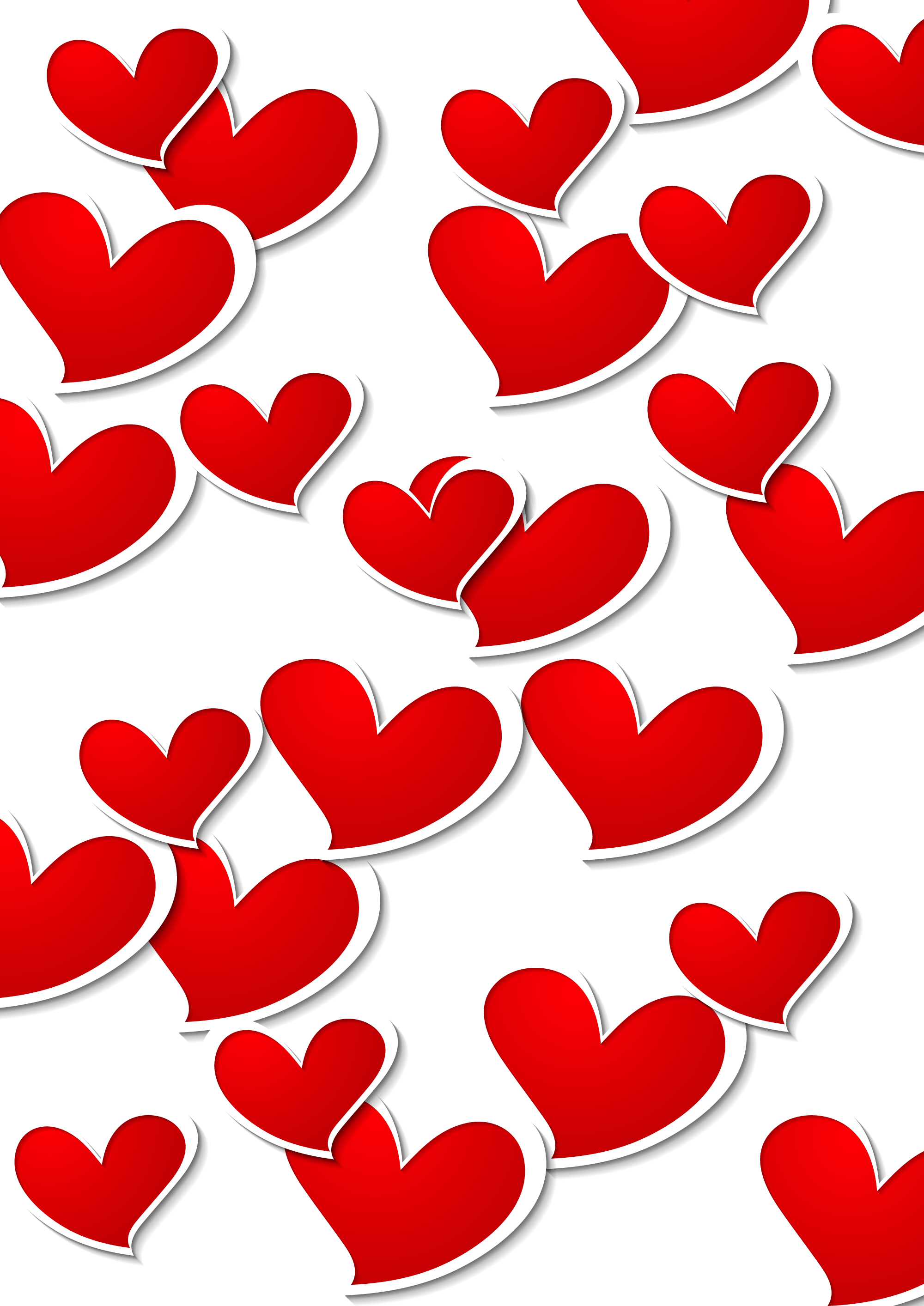 Heart stitch clipart banner transparent library Transparent Red White Hearts Decorative PNG Picture Clipar ... banner transparent library
