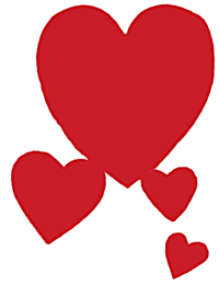 Hearts clipart images