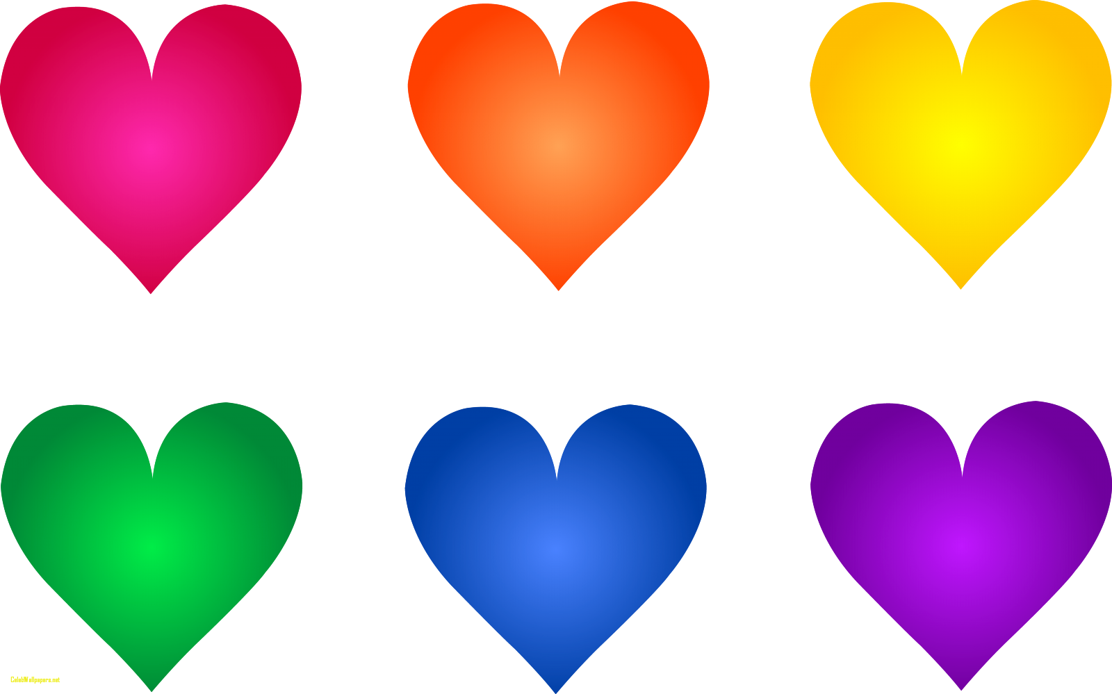 Hearts free clip art graphic royalty free stock Colorful Rainbow Heart Symbols Free Clip Art Awesome Images Of ... graphic royalty free stock