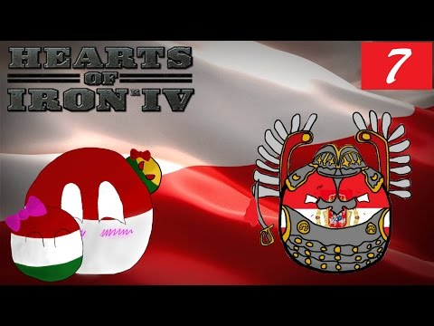 Hearts of iron 4 clipart image black and white stock Hearts of Iron 4 PL Polska Multiplayer #7 Wojna z Niemcami /w ... image black and white stock