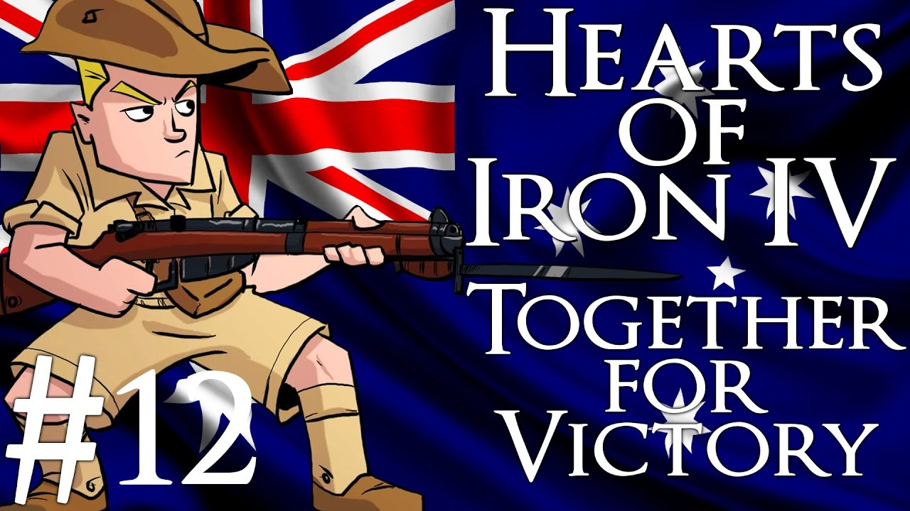 Hearts of iron 4 clipart vector stock Hearts of Iron 4 | Together For Victory | Australia | Part 12 ... vector stock
