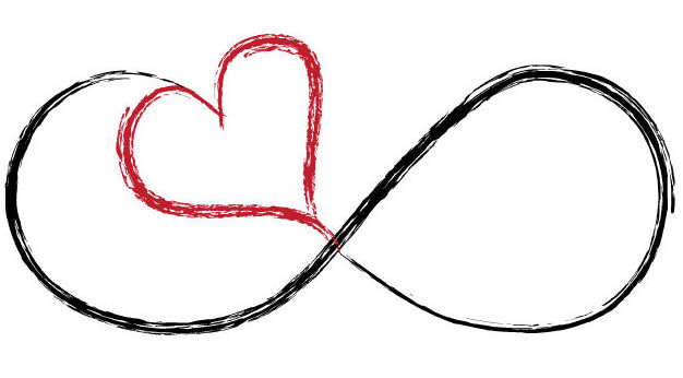 Hearts symbol forever love clipart jpg library library Infinity forever love clipart silver - ClipartFest jpg library library
