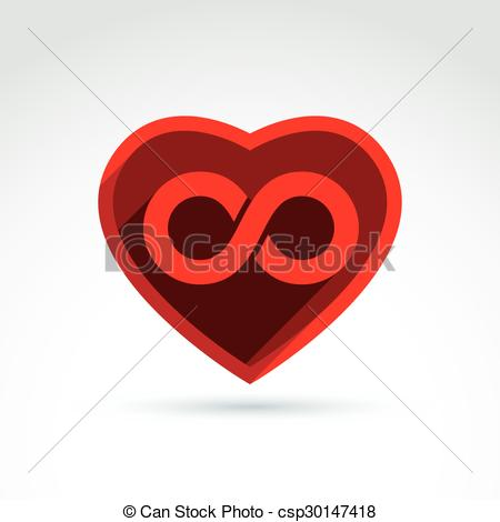 Hearts symbol forever love clipart clipart royalty free stock Vector Clip Art of Forever love concept with heart and infinity ... clipart royalty free stock