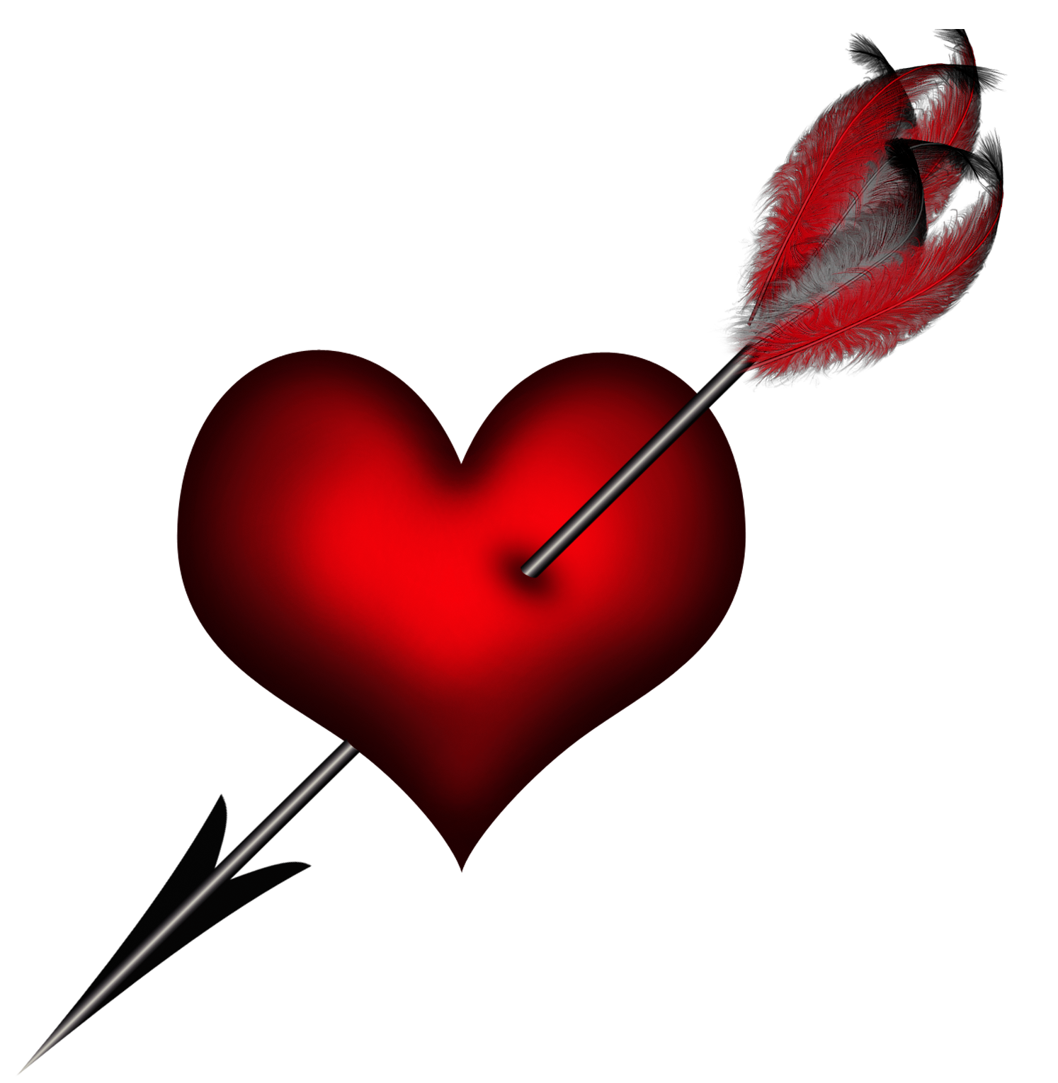 Free clipart heart with arrow graphic library download Transparent_Heart_with_Arrow_Clipart_Picture.png?m=1420531969 graphic library download
