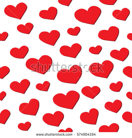 Hearts with shadow background clipart jpg library Floating Hearts Stock Images, Royalty-Free Images & Vectors ... jpg library