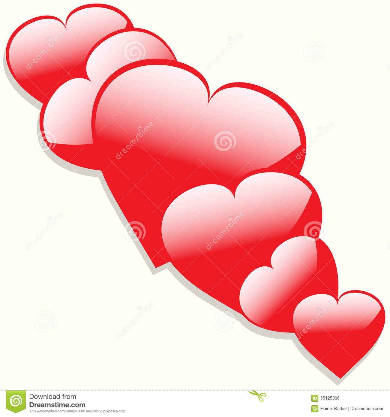 Hearts with shadow background clipart clip art transparent Hearts With Shadow Background Stock Illustration - Image: 65125896 clip art transparent