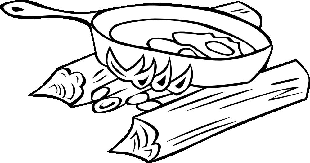 Heat black and white clipart image transparent Campfire Clipart Black And White | Free download best ... image transparent