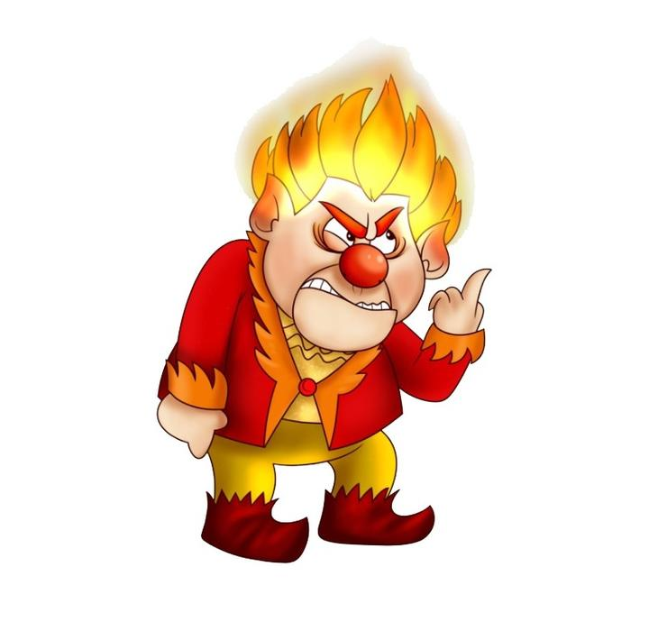 Heat miser clipart clip art freeuse library Heat Miser | The Year Without A Santa Claus Christmas Body & Hair Glitter clip art freeuse library