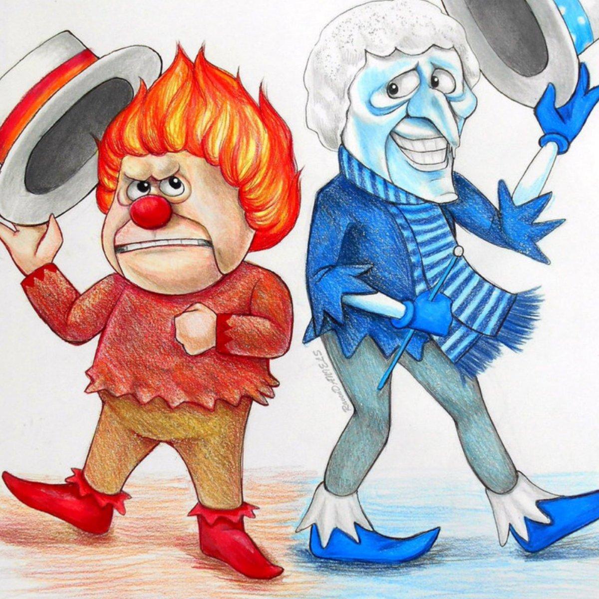 Heat miser clipart clip art stock Beth McLeod on Twitter: \