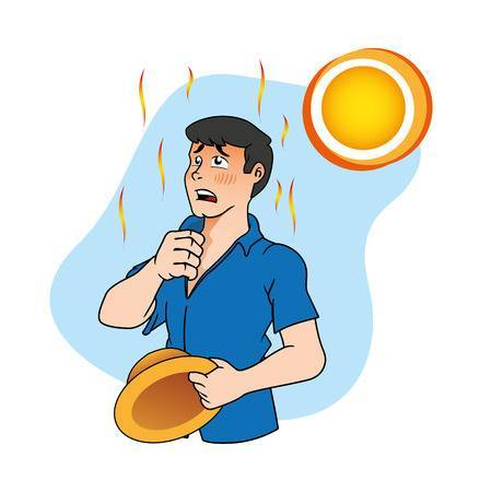 Heat stress clipart png library stock Heat exhaustion clipart 6 » Clipart Portal png library stock