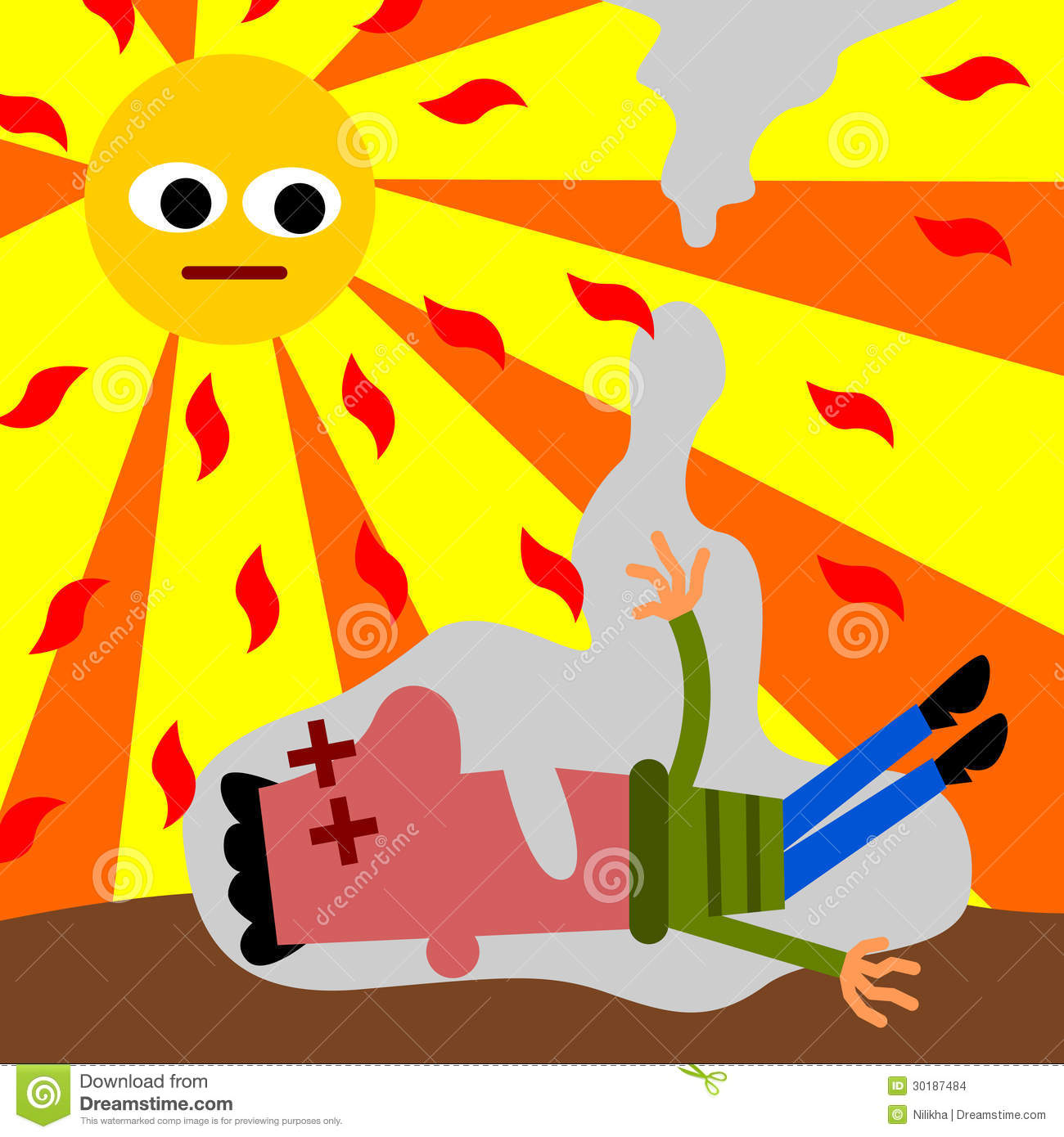 Heat stress clipart free library Heat Stress Cartoons Group with 60+ items free library