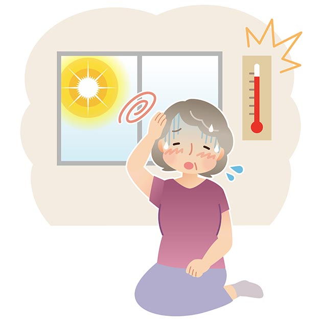 Heat stroke clipart transparent Avoid heat stroke – Minnesota Good Age transparent