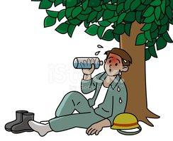 Heat stroke clipart clip art free Heat Stroke, Worker stock vectors - Clipart.me clip art free