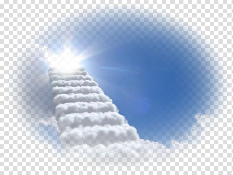 Heaven background clipart clipart freeuse download White clouds stairs, Sky Desktop Cumulus , Stairway To ... clipart freeuse download