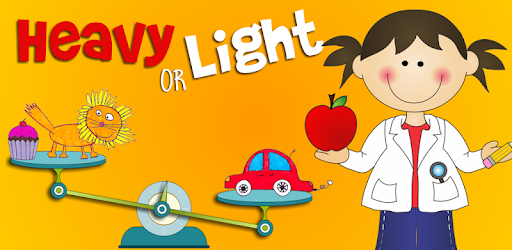 Heavy and light clipart svg library library Heavy or Light - Kids science - Apps on Google Play svg library library
