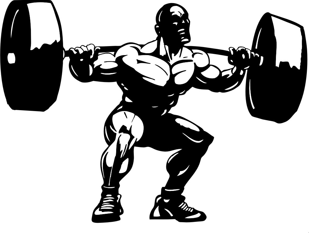 Heavy lifting clipart girl black and white vector freeuse library Lifting clipart weight lifter - 23 transparent clip arts ... vector freeuse library