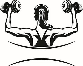 Heavy lifting clipart girl black and white black and white stock Weightlifting Cliparts | Free download best Weightlifting ... black and white stock