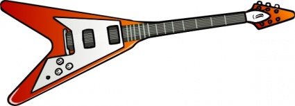 Heavy metal guitar clipart graphic free Rock Guitar Clipart | Free download best Rock Guitar Clipart ... graphic free