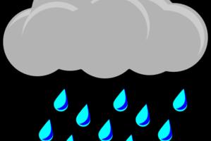 Heavy rain clipart