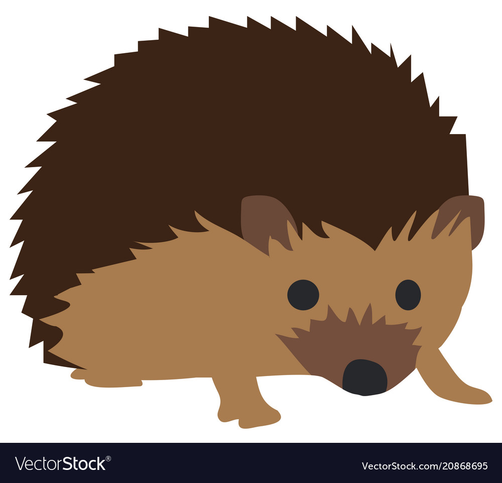 Hedgehog clipart pictures banner freeuse library Cute hedgehog vector image banner freeuse library