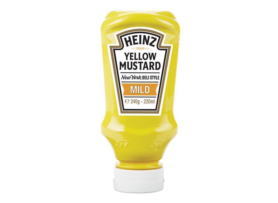 Heinz mustard clipart jpg black and white Heinz | Heinz Yellow Mustard – Mild jpg black and white